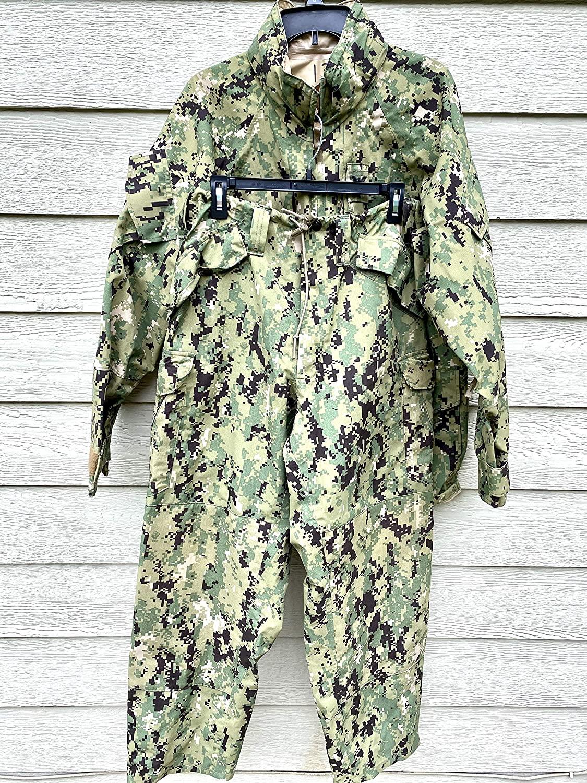 Genuine Us Navy Nwu Apec Type III Cold Weather GoreTex Set - Medium Regular