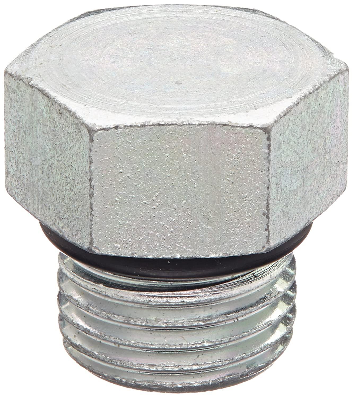 Eaton Aeroquip 900598-6S Steel Tube Fitting, Hex Head Plug, 3/8