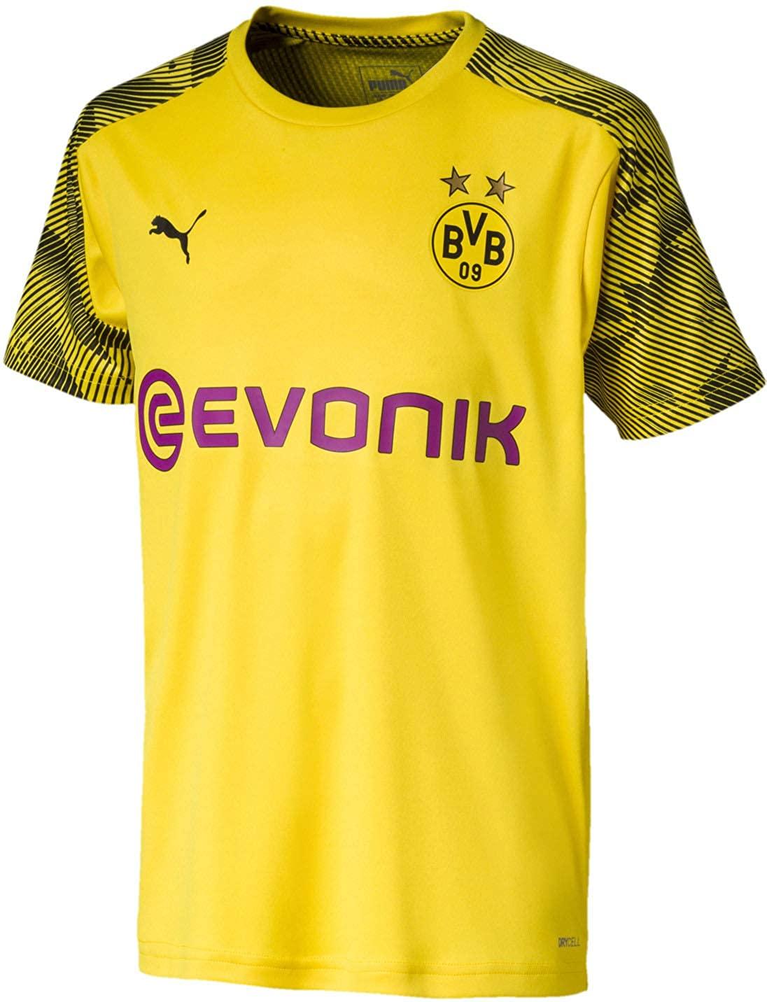 PUMA International Soccer Boys Borussia Dortmund Official Training Jersey