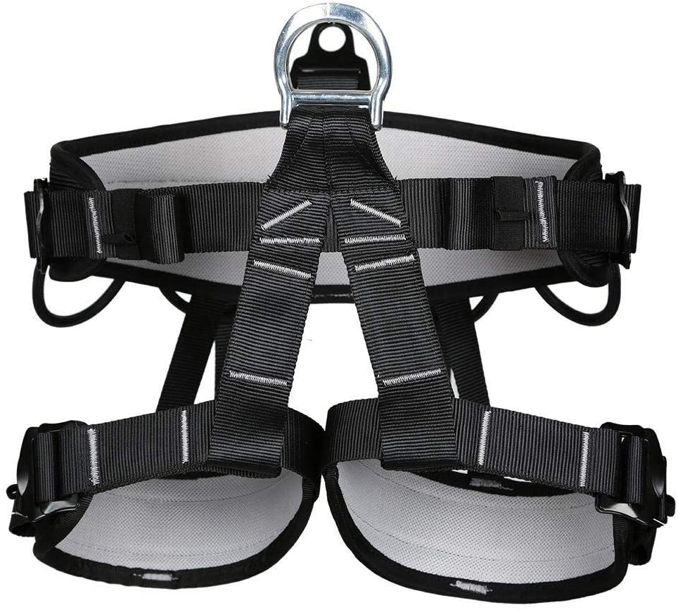 Climbing Harness Half Body Harnesses Mountaineering Climbing Gearoutdoor Rescue Aerial Work Safety Belt Climbing Rope Speed Drop Half Body Safety Belt Climbing Safety Belt U