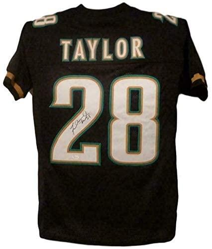 Fred Taylor Signed Jersey - XL Black 13460 - JSA Certified - Autographed NFL Jerseys