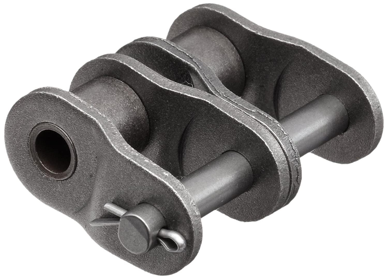 HKK RC040CHL2 ANSI 40 Double Strand Roller Offset Link, Cottered, Carbon Steel, 1/2