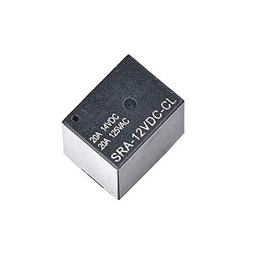 20pcs/lot SRA-12VDC-CL20A 12V DC 5 pin HFKW DC Mini Relay TI