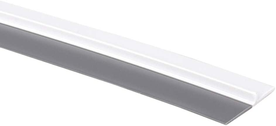 LianX Door Draft Stopper, Rubber Seal Strip Door Strip Bottom Sealing Sticker Adhesive Anti-Collision for Doors Window 1 Meter