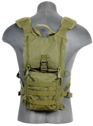 Lancer Tactical CA-321G Lightweight Airsoft Hydration Pack (Green)