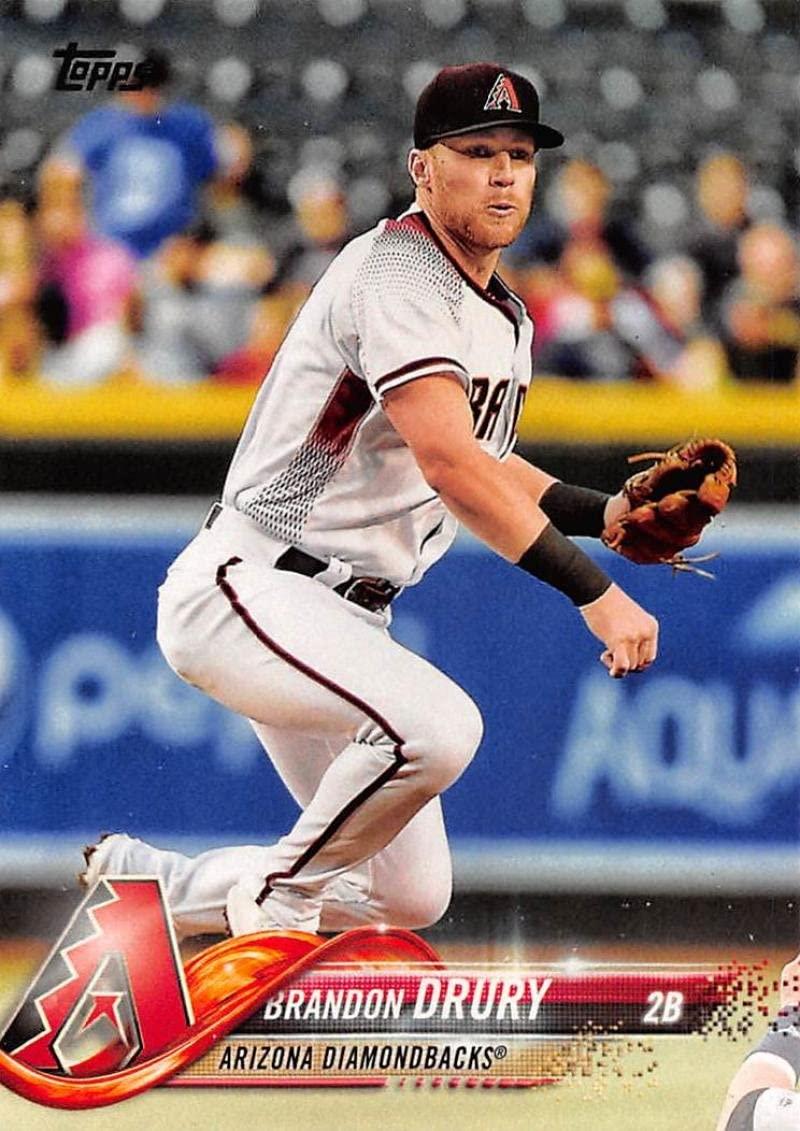 2018 Topps #141 Brandon Drury Arizona Diamondbacks Baseball Card