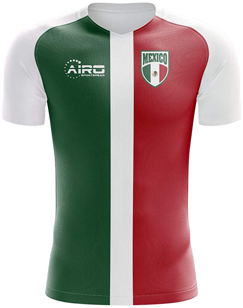 Airosportswear 2020-2021 Mexico Flag Concept Football Soccer T-Shirt Jersey - Womens