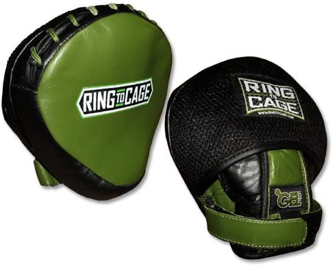 Ring to Cage GelTech Mini Punch Mitt - Safety Cover, Micro Mitt, Boxing, Muay Thai, MMA, Kickboxing, Martial Arts