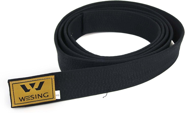 wesing Taekwodo Black Cotton Belt 2X-Large(310cm,10.17ft)