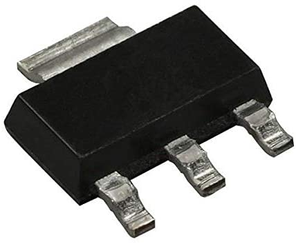 MOSFET P-Ch -60V -2.9A SOT-223-3, Pack of 100