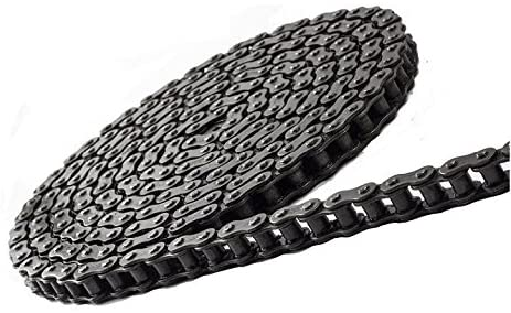 Jeremywell 25H Heavy Duty Roller Chain 10 Feet with 1 Connecting Link