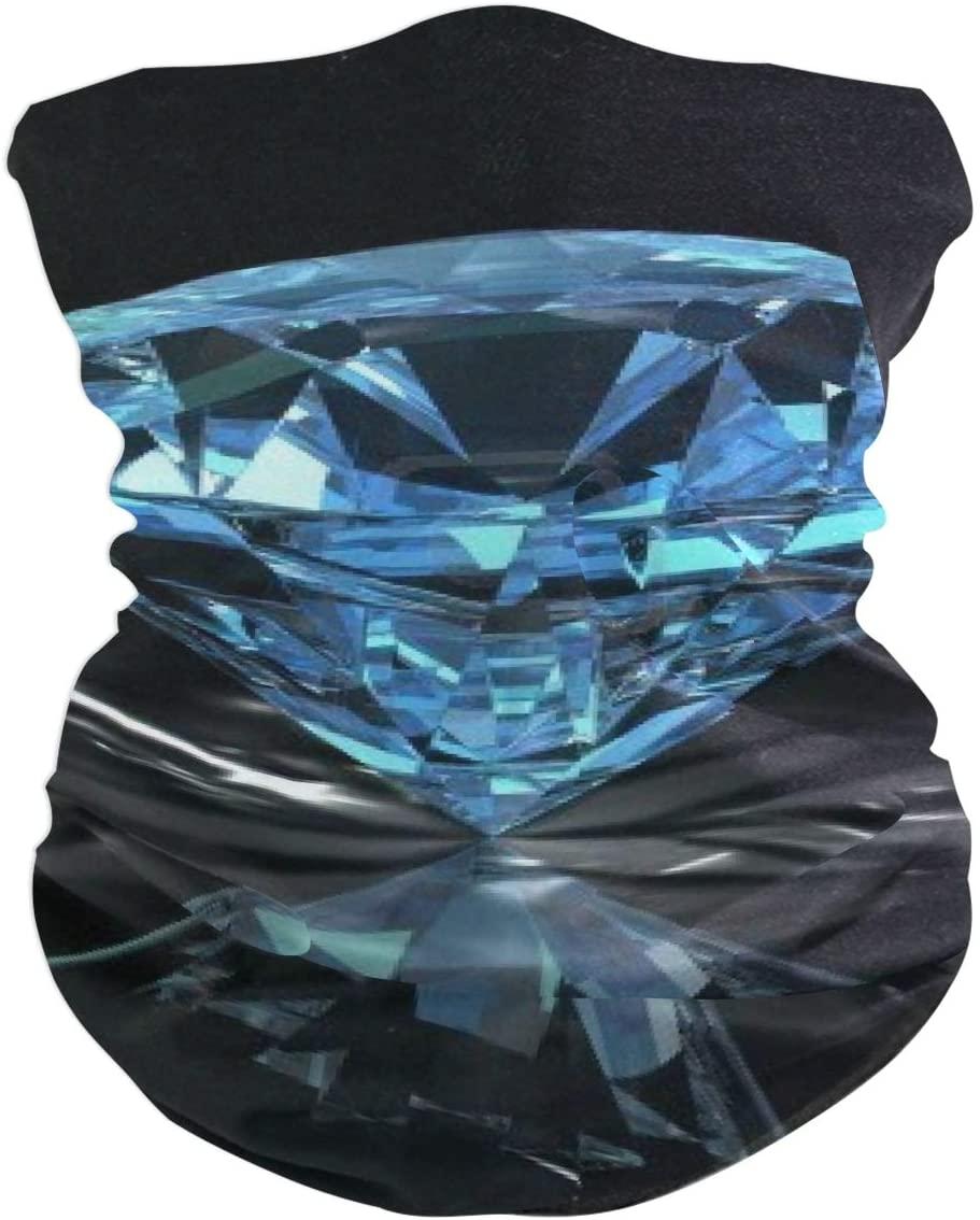 Love beautiful Diamonds are Forever Face Mask UV Sun Mask Dust Wind Neck Gaiter Magic Bandana