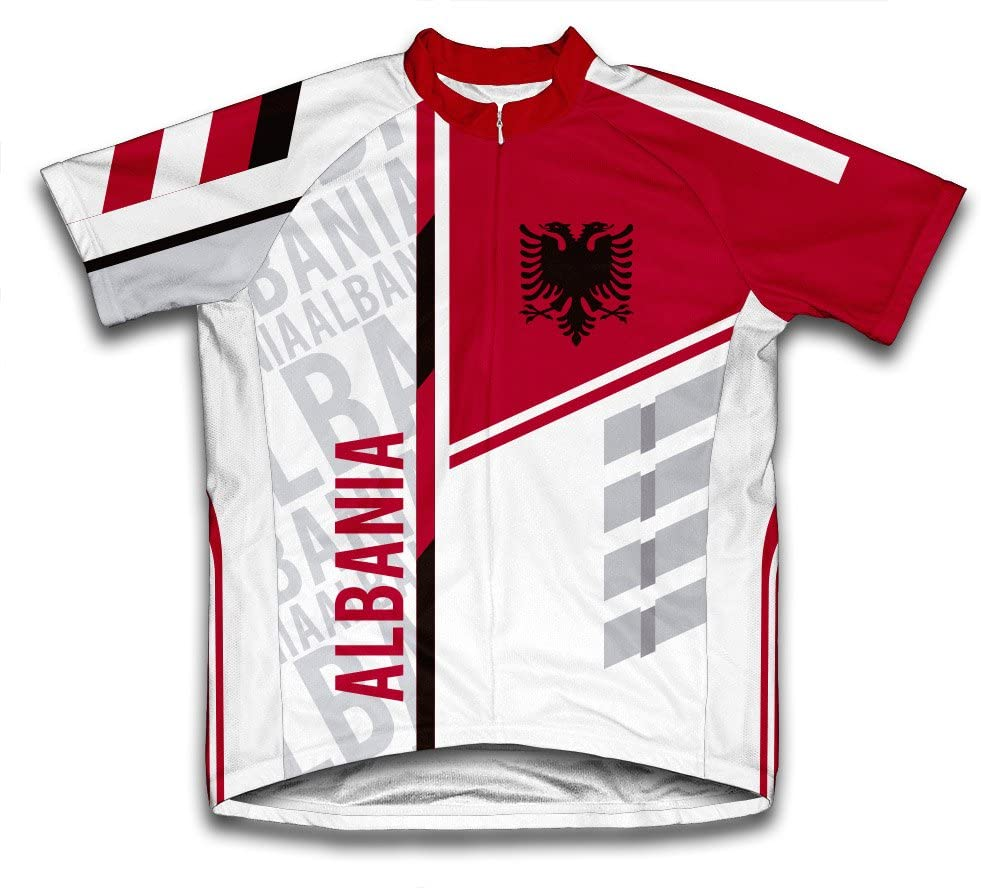 ScudoPro Albania Short Sleeve Cycling Jersey for Men