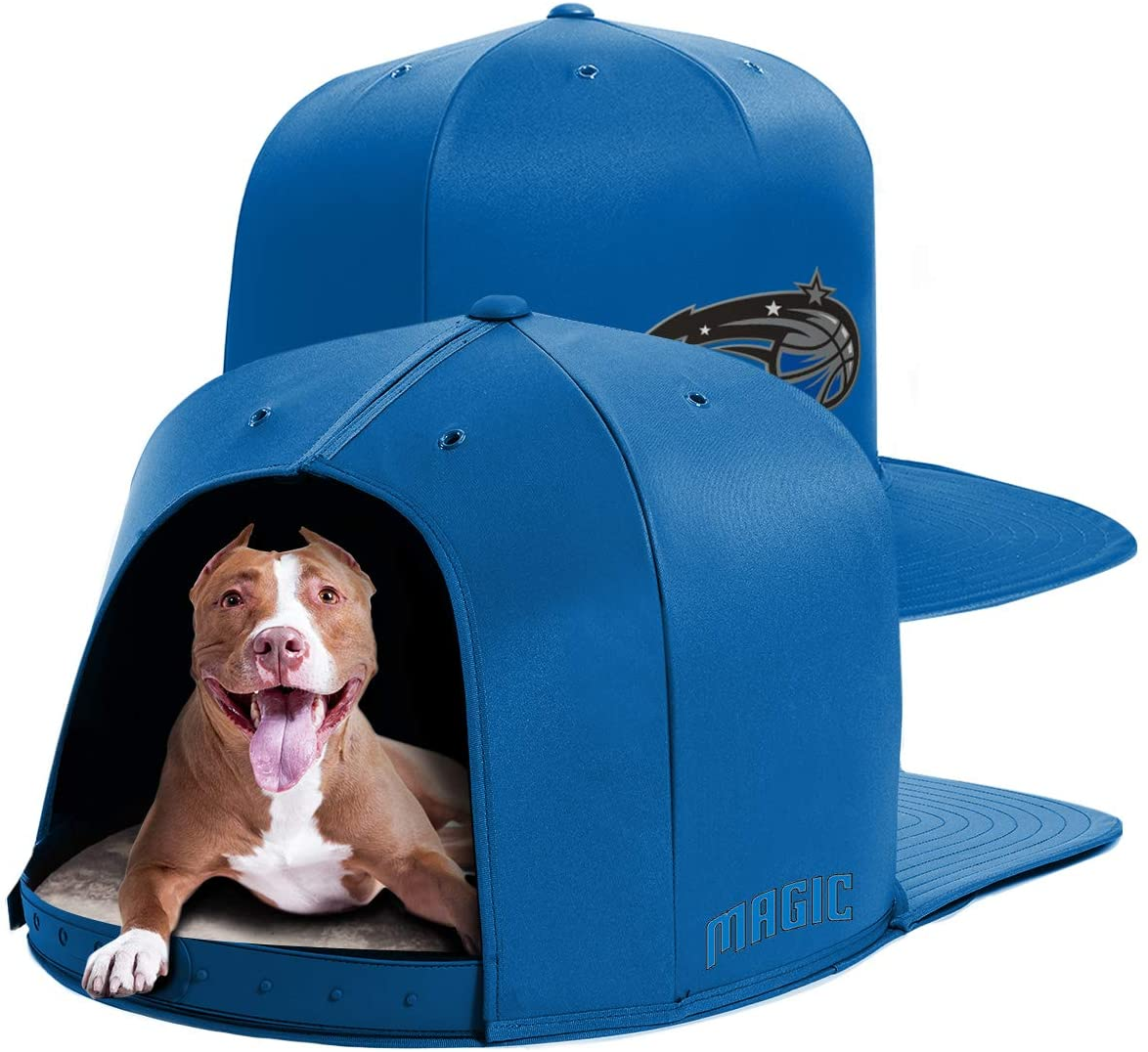 NAP CAP NBA Orlando Magic Team Indoor Pet Bed, Royal Blue (Available in 3 Sizes)