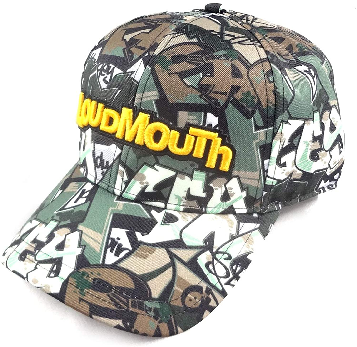 Loudmouth New Tags Camo All-Over Adjustable Hat/Cap