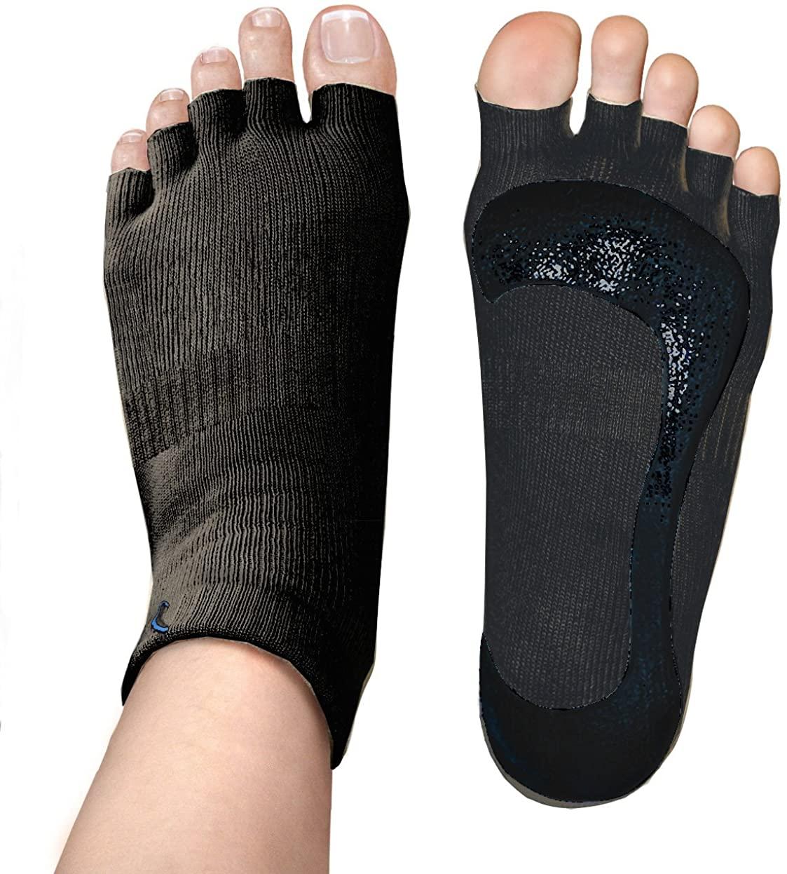 Yoga Socks in Black (1 Pair )