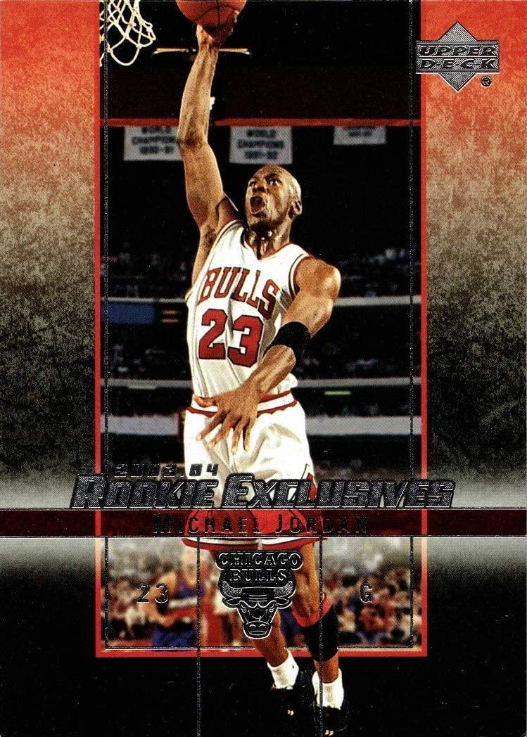 2003-04 Upper Deck Rookie Exclusives #60 Michael Jordan Basketball Card