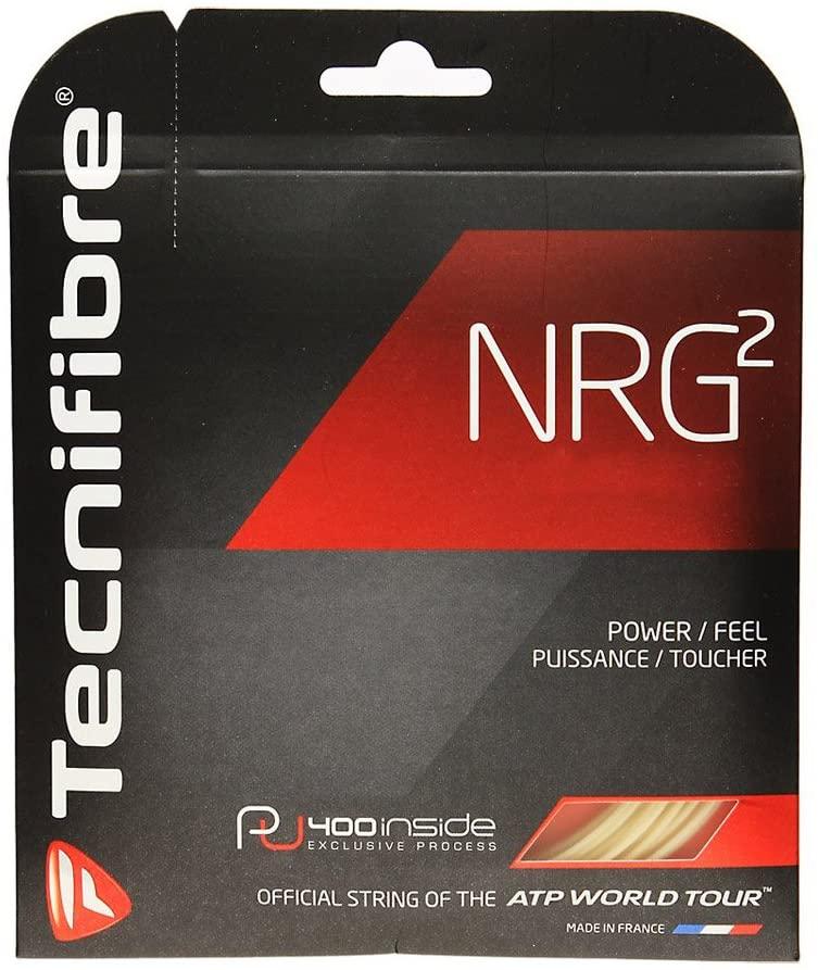 Tecnifibre NRG2 SPL Tennis String Set-Natural-16