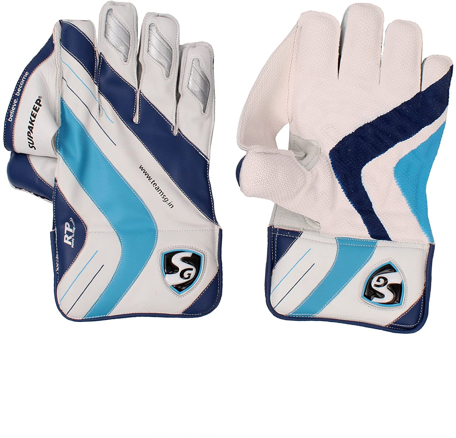 SG Club Youth Wicket Keeping Gloves Size