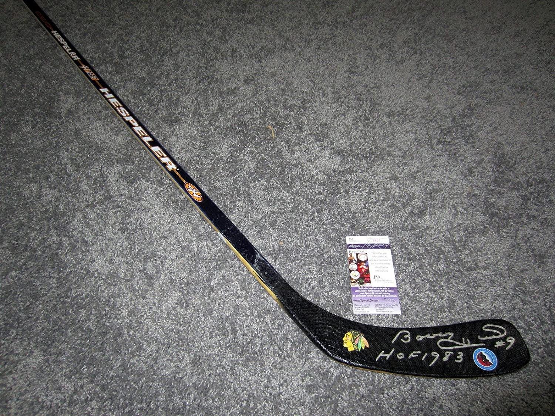 Bobby Hull Signed Stick - COA HOF 1983 - JSA Certified - Autographed NHL Sticks