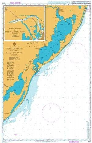 UKHO BA Chart 3063: Cidreira to Chui Including Lagoa dos Patos