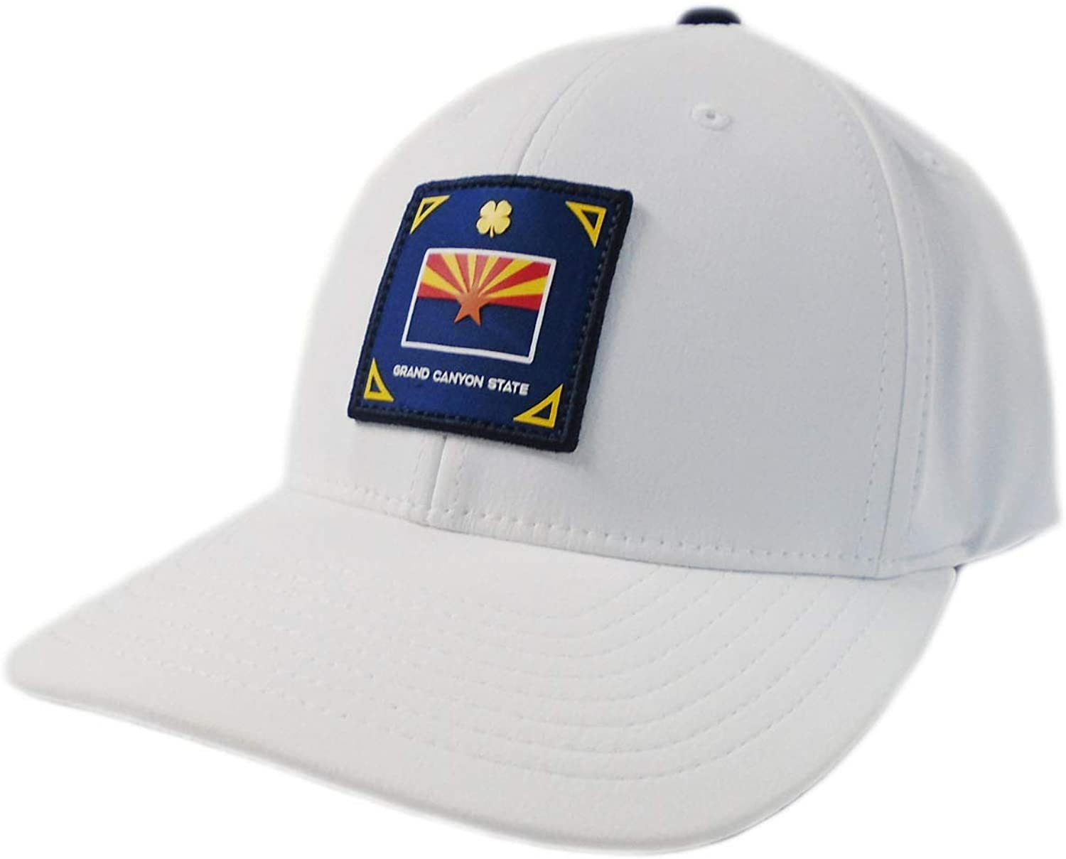 Black Clover New Live Lucky Arizona Represent White Fitted L/XL Hat/Cap