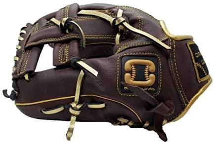 Omaha Gloves Fielding Glove - Dark Brown/Gold I-Web