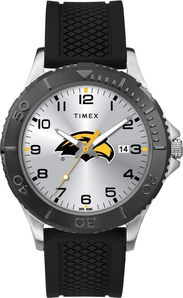 Timex Men's Southern Miss USM Gamer Watch Silicone Watch