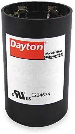 Dayton 6FLL0 - Motor Start Capacitor 430-516 MFD Round