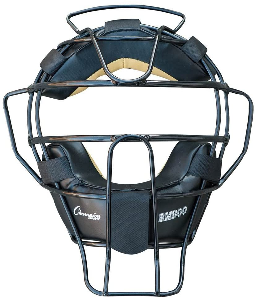 Champion Sports Ultra Lightweight Baseball Umpire Face Mask - Available in Multiple Colors