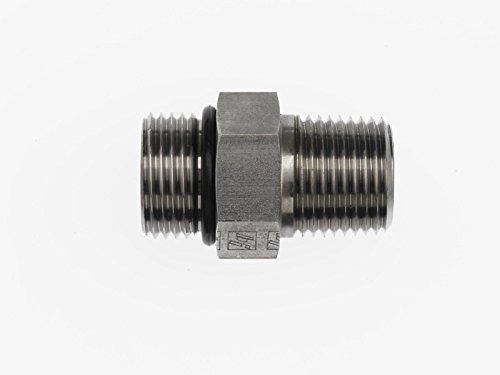 Brennan Industries 6401-08-06-O Steel Straight Tube Fitting, 3/4
