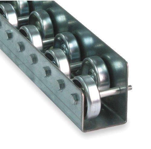 Skatewheel Flow Rail, 100Lb, 5 Ft Straight