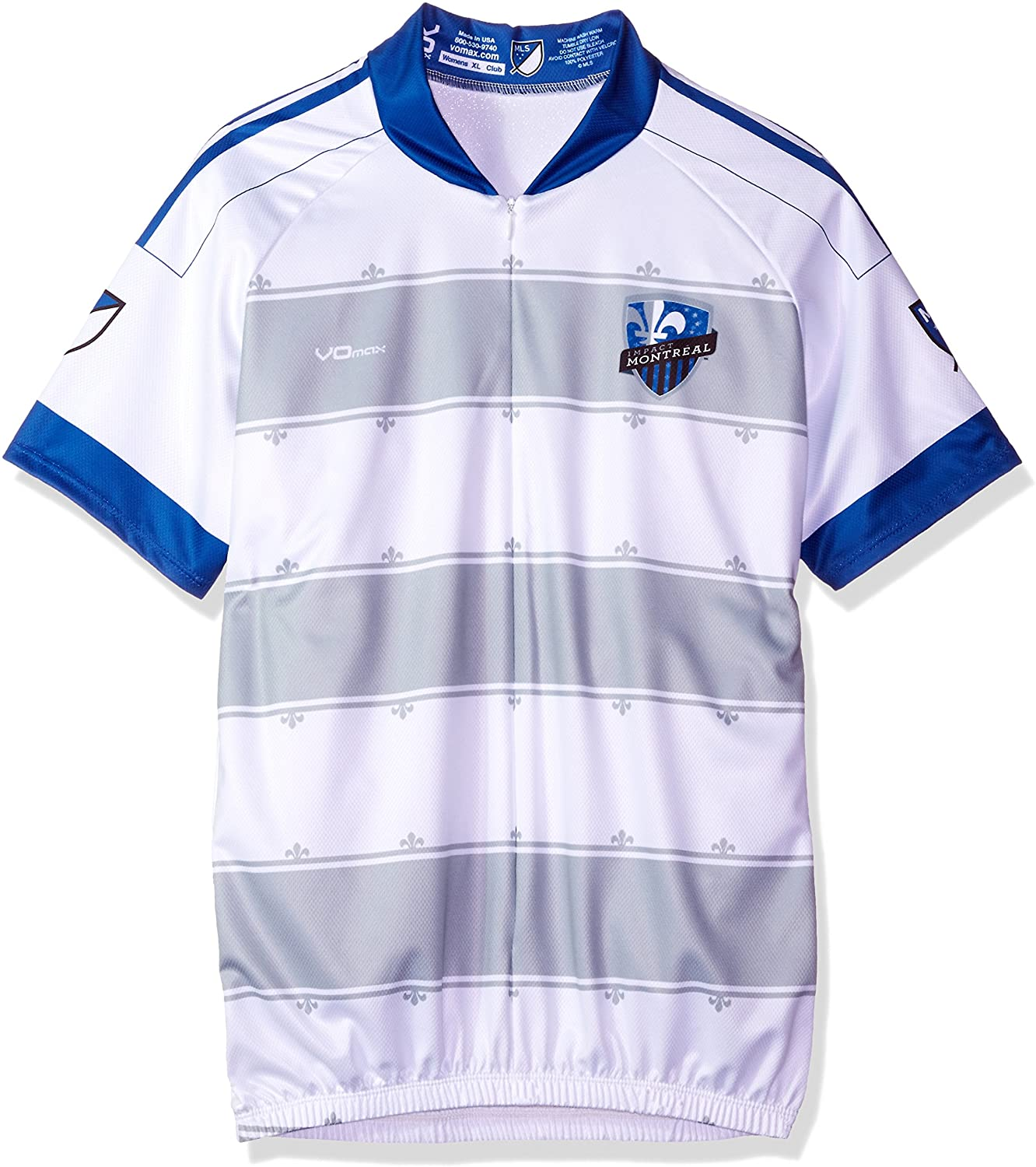 VOmax Womens MLS Short Sleeve Secondary Montreal Impact Cycling Jersey