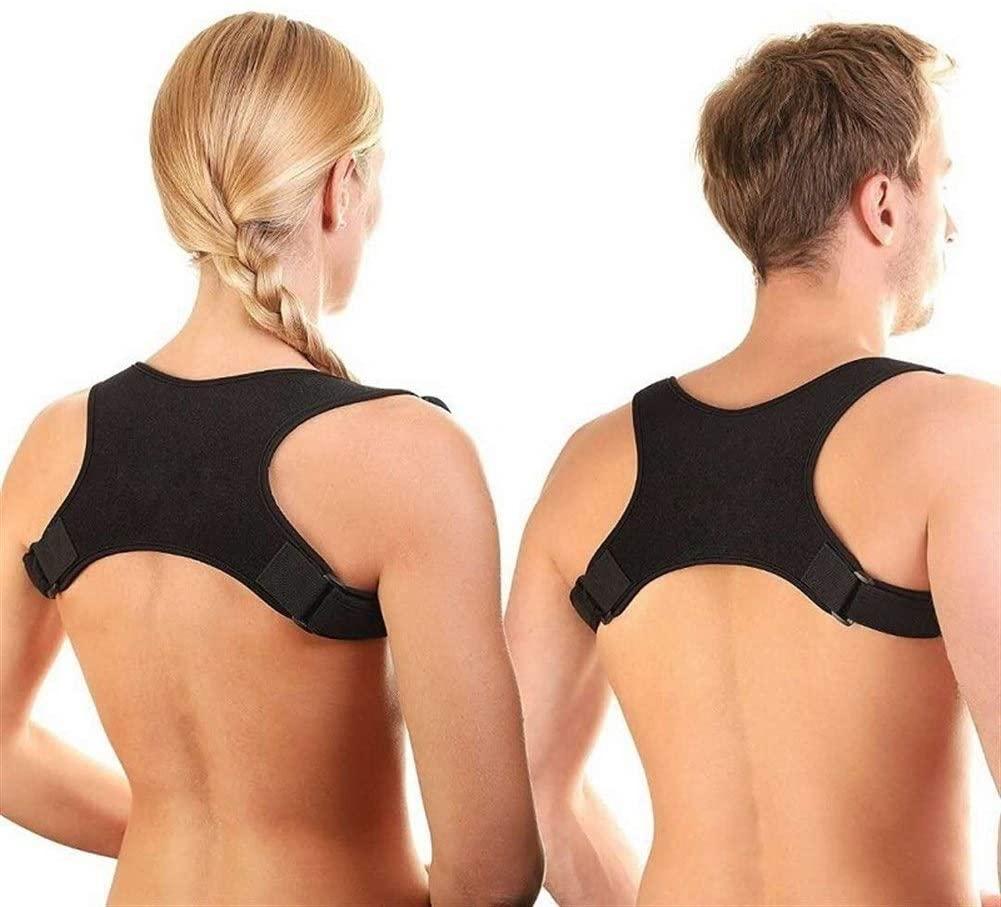 No-branded WWTLKJ Spine Posture Corrector Protection Back Shoulder Posture Correction Band Humpback Back Pain Relief Corrector Brace