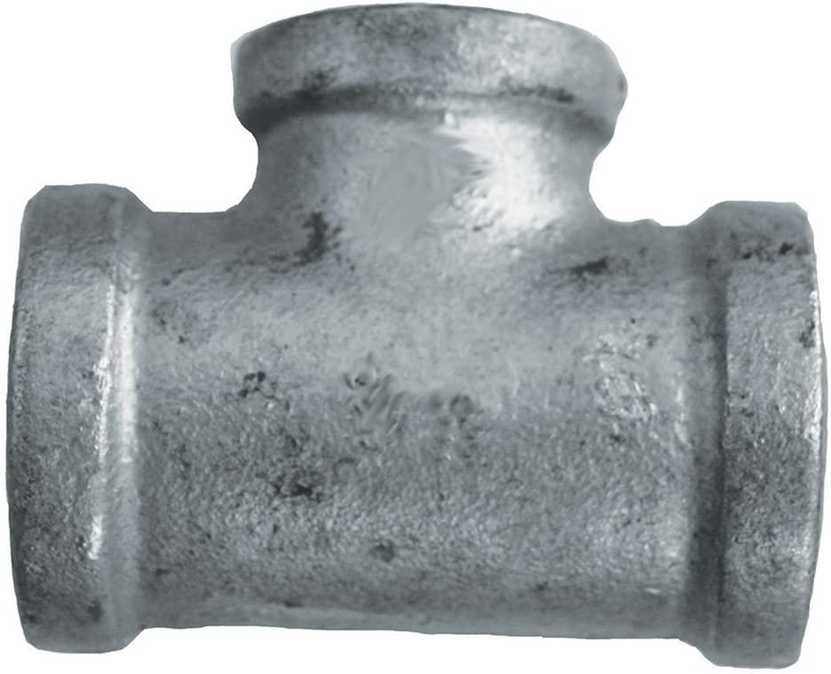 Jones Stephens Corp - 1-1/4 X 3/4 Reducing Tee Galv