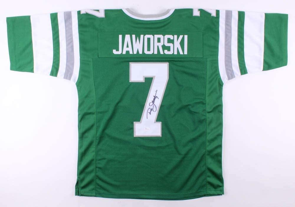 Ron Jaworski Signed Autographed Philadelphia Eagles Football Jersey - JSA COA