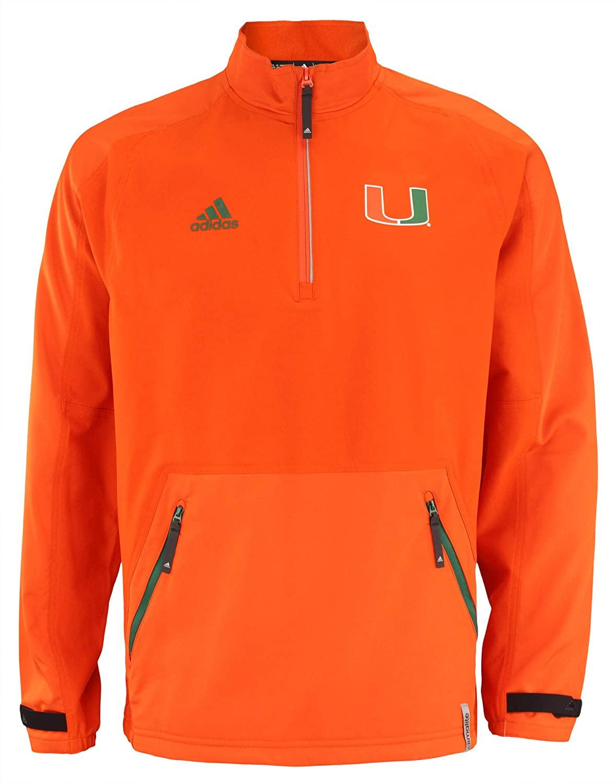 adidas NCAA Men's Woven 1/4 Zip Jacket, Team Variation