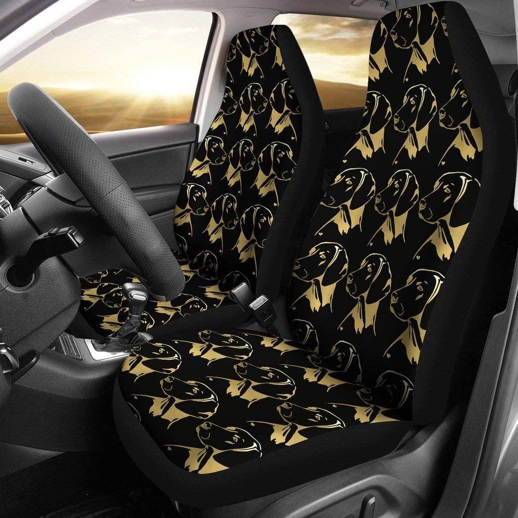 Breedink Vizsla Dog Print Car Seat Covers