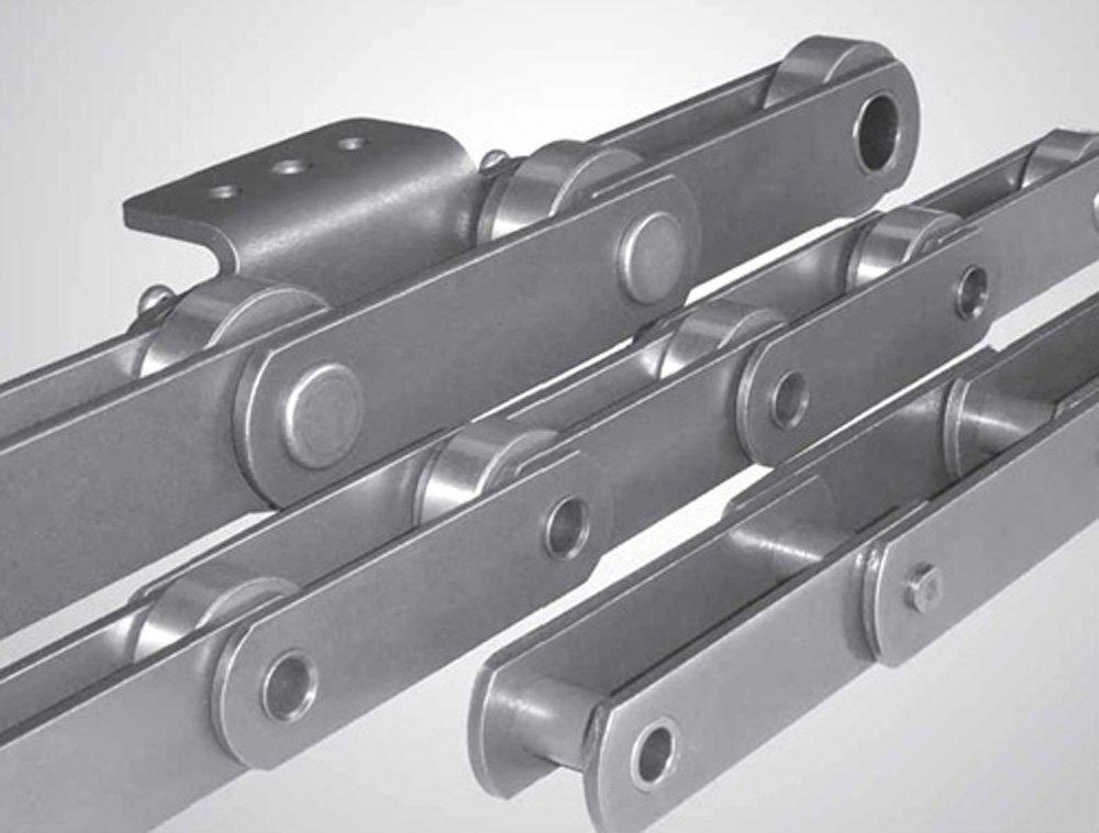 606-125-21X10FT Ametric® ISO Metric M 56 10 Foot Box Solid Bearing Pin-Single Strand Conveyor Chain - (Mfg Code 1-005)