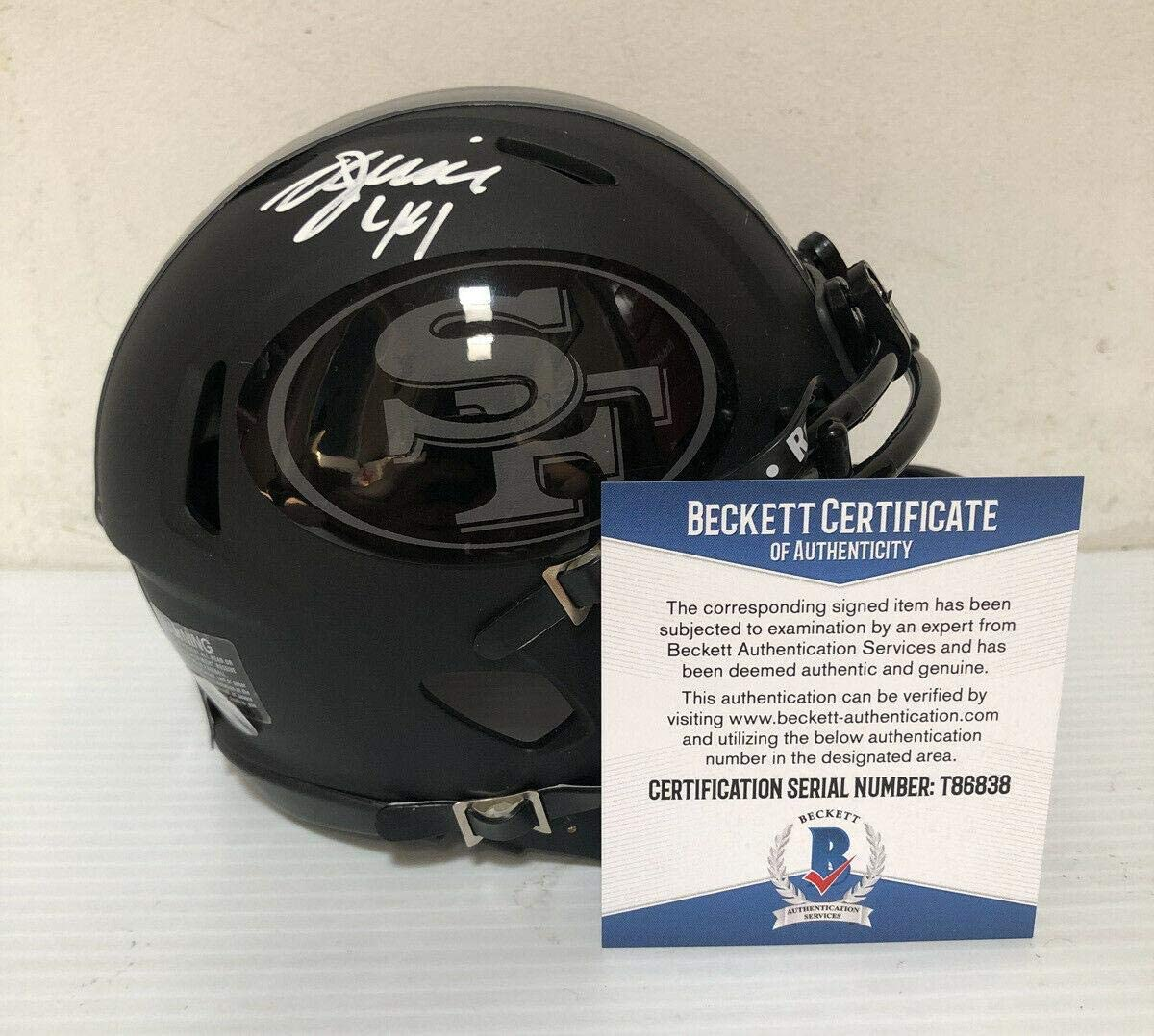 Signed Kyle Juszczyk Mini Helmet - BECKETT COA 2 - Beckett Authentication - Autographed NFL Mini Helmets