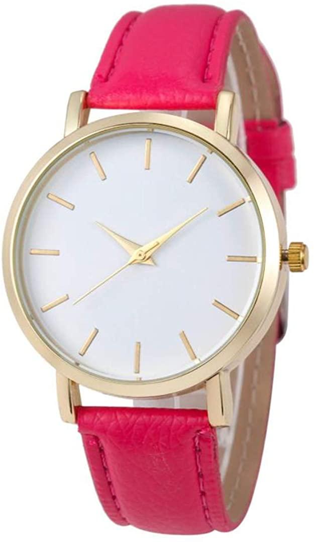 SheShiLs Luxury Quartz Watch Men Women Famous PU Leather Wrist Watches Bracelets