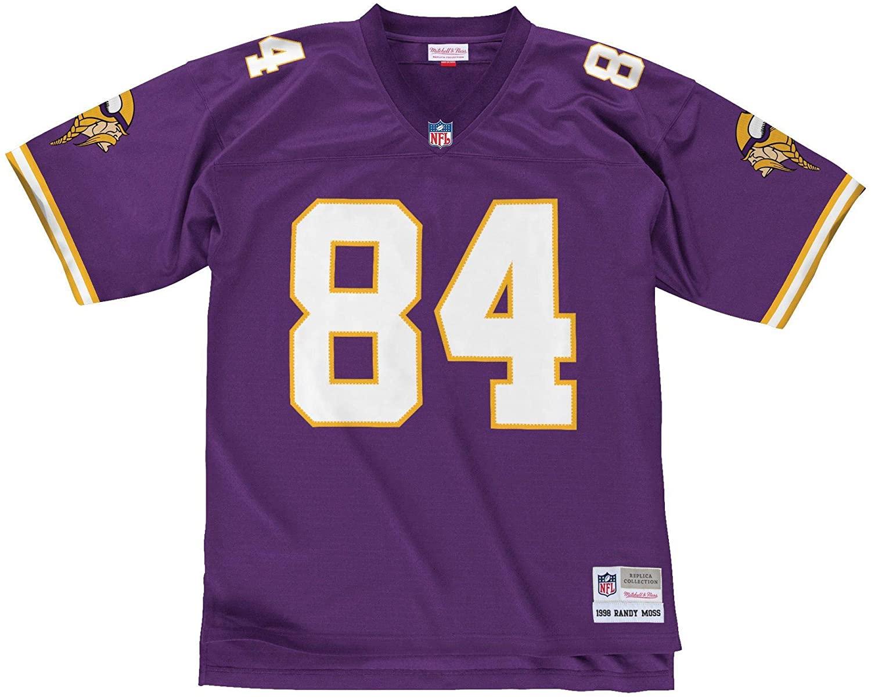 Mitchell & Ness Randy Moss Minnesota Vikings NFL Throwback Premier Jersey