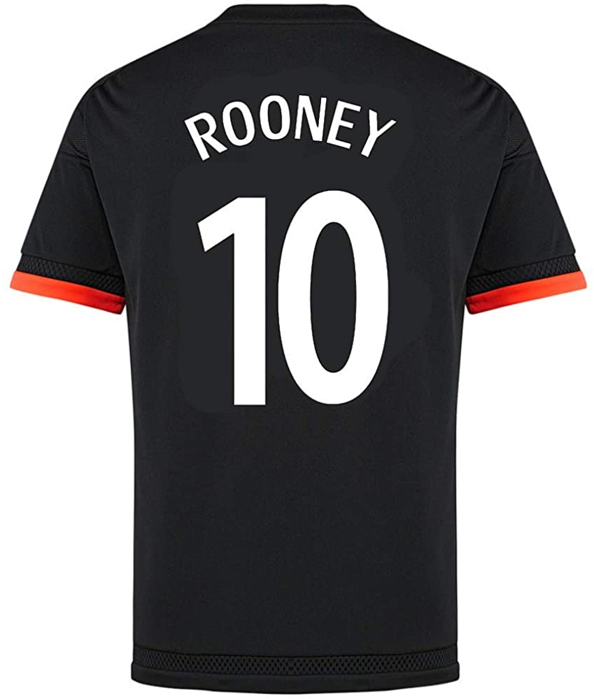 Rooney #10 Manchester United Third Soccer Jersey 2015