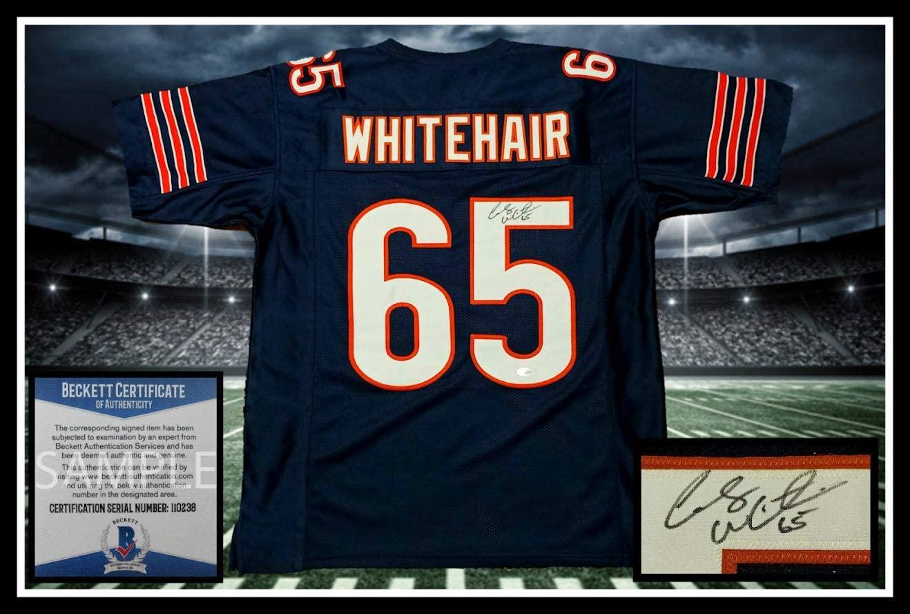 Cody Whitehair Autographed Jersey - navy coa UNFRAMED - JSA Certified - Autographed NFL Jerseys