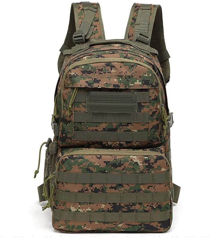 Outdoor Sports Pack Hiking Bag Tactical Rucksack Camo Knapsack Combat Camouflage Tactical Molle Backpack