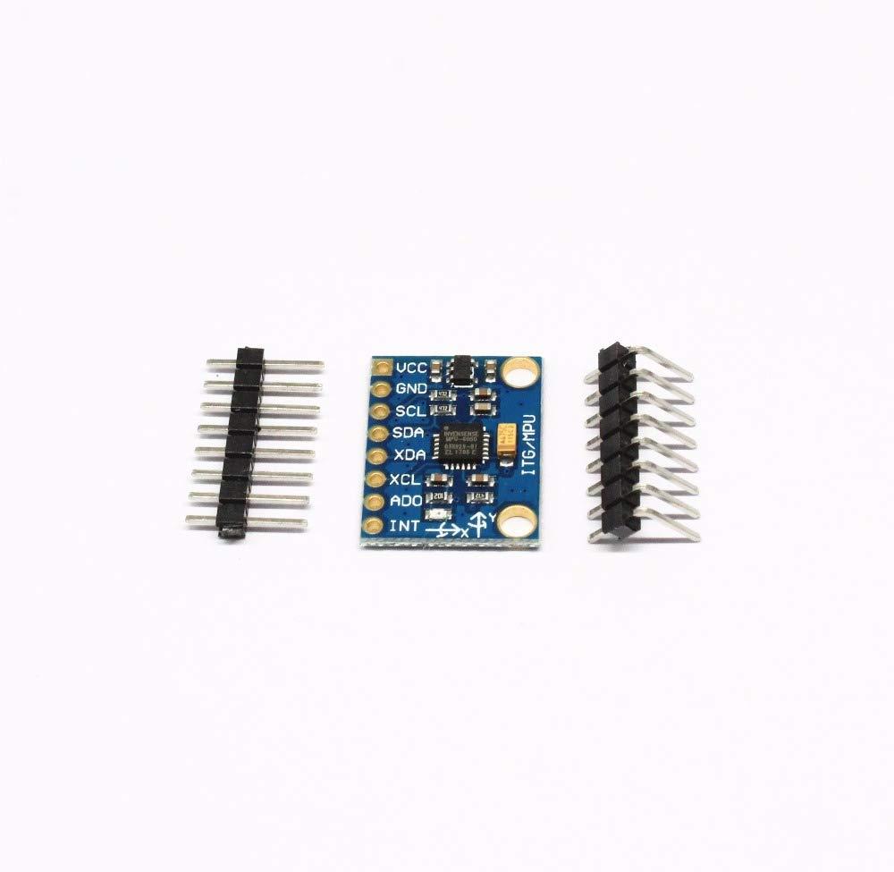 GY-521 GY521 GY 521 MPU-6050 MPU6050 MPU 6050 Module 3 Axis Analog Gyro Sensors + Accelerometer for arduino DIY KIT