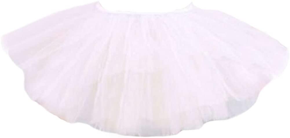 George Jimmy Three Layers Yarn Dance Skirt Kid Swan Lake Costumes Ballet Dress-White
