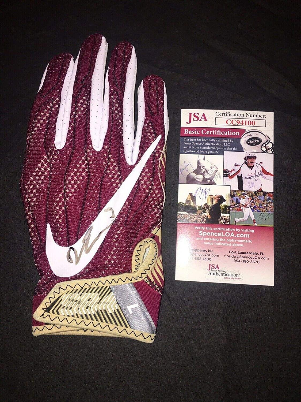 Derwin James Signed Team Issued Florida State Seminoles Glove Superstar #5 - JSA Certified - Game Used College Gloves