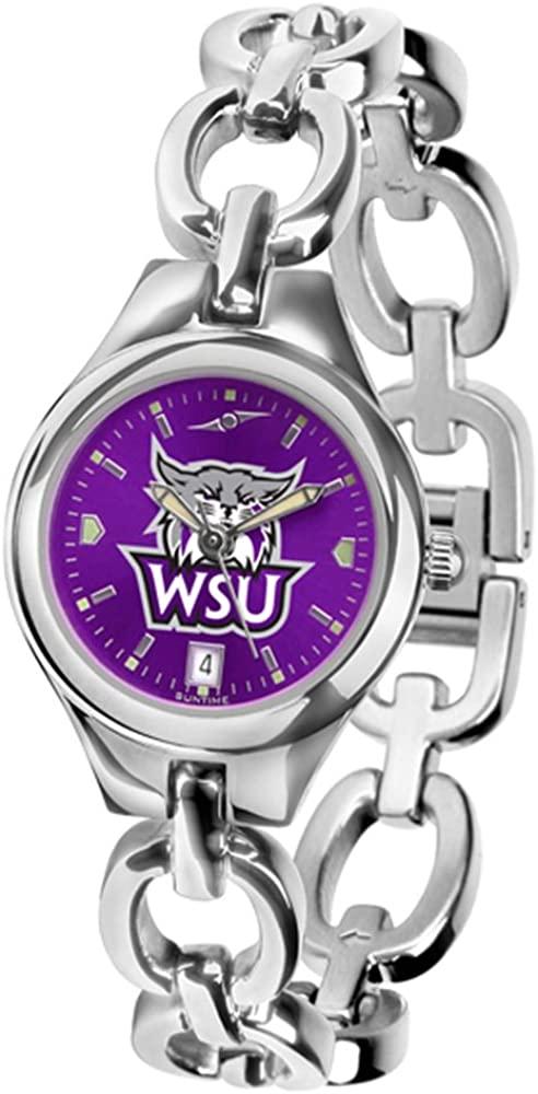 Linkswalker Mens Weber State Wildcats Eclipse Anochrome Watch