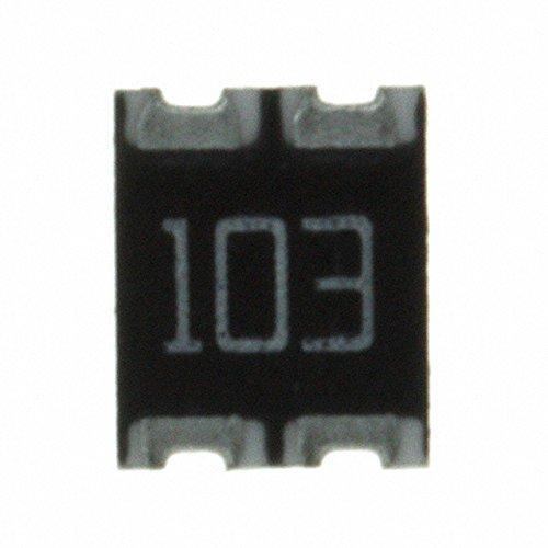 RES ARRAY 10K OHM 2 RES 1210 (4000 pieces)